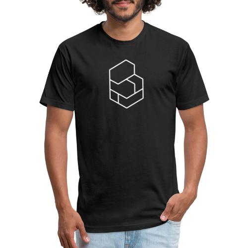 Blocknative Progression - Fitted Cotton/Poly T-Shirt by Next Level