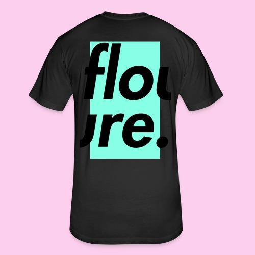 FLOURE CUT 2 PIECES - Fitted Cotton/Poly T-Shirt by Next Level