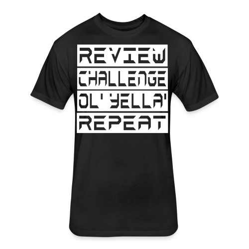 Repeat - Fitted Cotton/Poly T-Shirt by Next Level