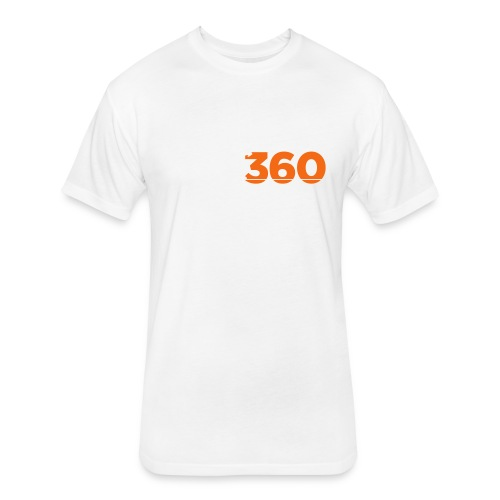 Move360 Logo LightGrey - Fitted Cotton/Poly T-Shirt by Next Level