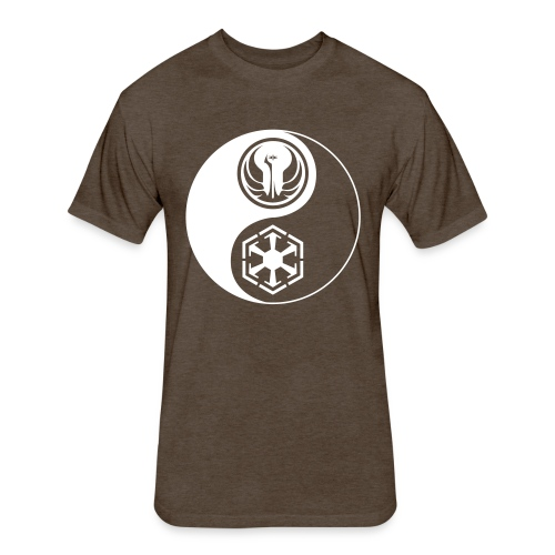 Star Wars SWTOR Yin Yang 1-Color Light - Fitted Cotton/Poly T-Shirt by Next Level
