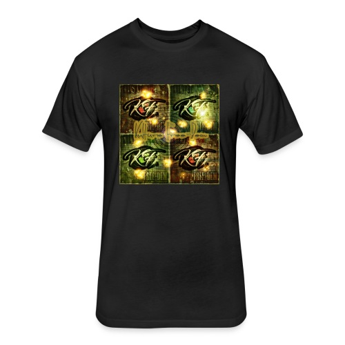 KFree Signature cosmic art - Fitted Cotton/Poly T-Shirt by Next Level
