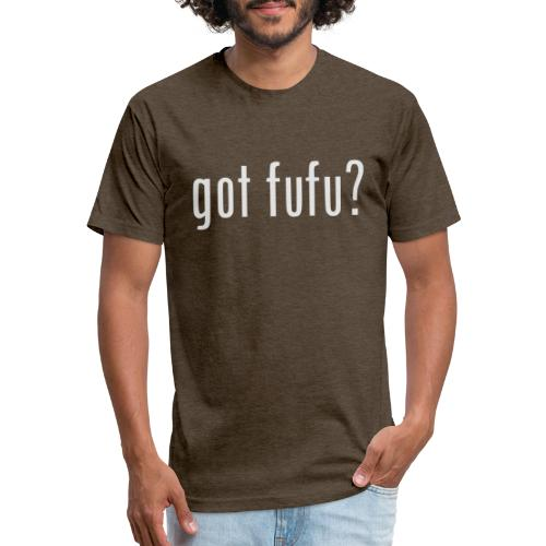 gotfufu-white - Fitted Cotton/Poly T-Shirt by Next Level