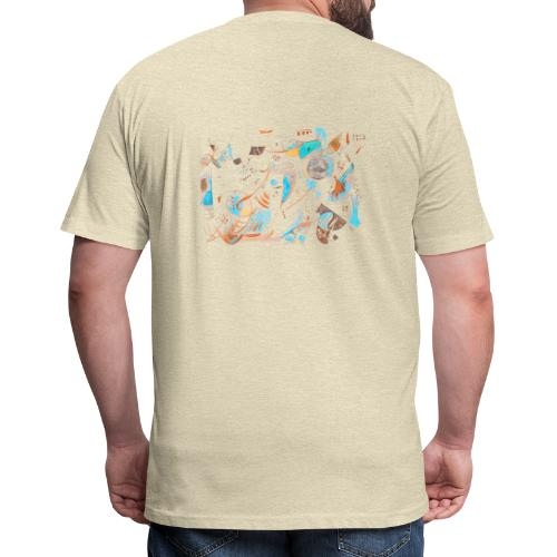 Firooz - Fitted Cotton/Poly T-Shirt by Next Level