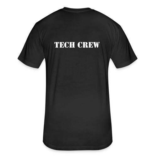 Tech Crew - Fitted Cotton/Poly T-Shirt by Next Level