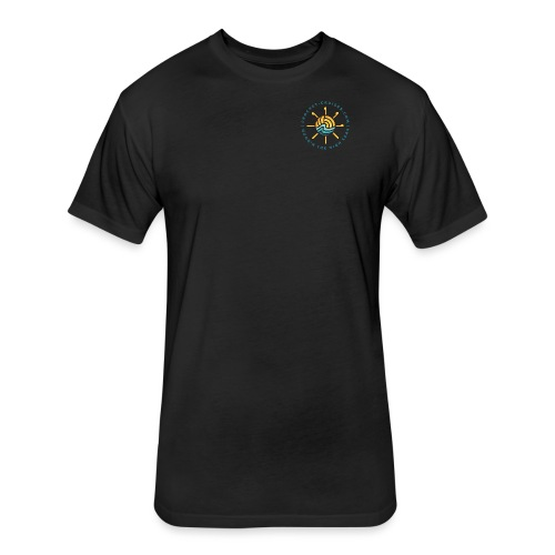 Front and Back Emblem - Womens - Fitted Cotton/Poly T-Shirt by Next Level