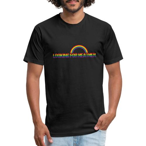 Looking For Heather Pride - Fitted Cotton/Poly T-Shirt by Next Level