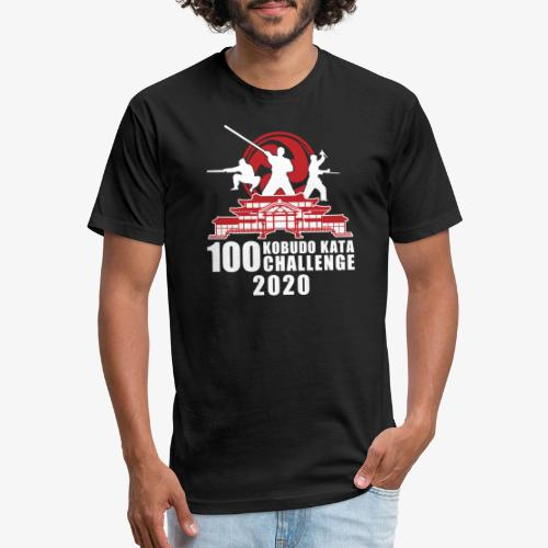 2020 100 Kobudo Kata Official - Fitted Cotton/Poly T-Shirt by Next Level