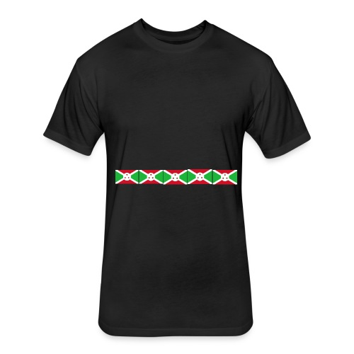 bi png - Fitted Cotton/Poly T-Shirt by Next Level