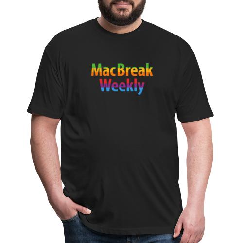 MacBreak Weekly Podcast - Fitted Cotton/Poly T-Shirt by Next Level