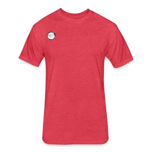 mens t shirt - Fitted Cotton/Poly T-Shirt by Next Level