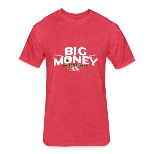 Big Money LifeStyle - Fitted Cotton/Poly T-Shirt by Next Level