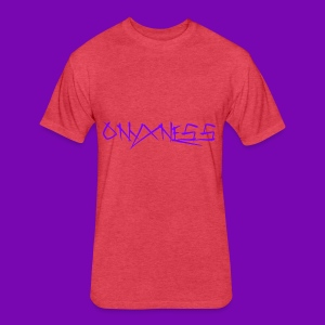 OnyxNess (Purple) - Fitted Cotton/Poly T-Shirt by Next Level