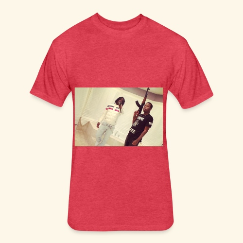 Sosa - Fitted Cotton/Poly T-Shirt by Next Level