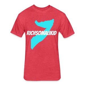 Richsomalikid Somali - Fitted Cotton/Poly T-Shirt by Next Level