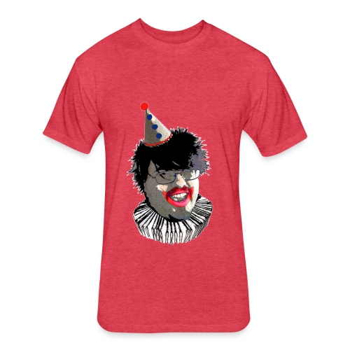 David Del Gacy - Fitted Cotton/Poly T-Shirt by Next Level