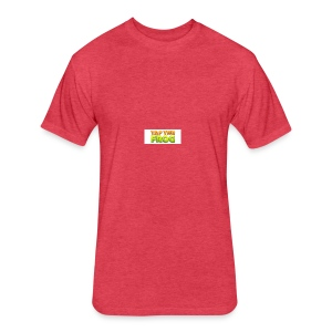 Tap the frog - Fitted Cotton/Poly T-Shirt by Next Level
