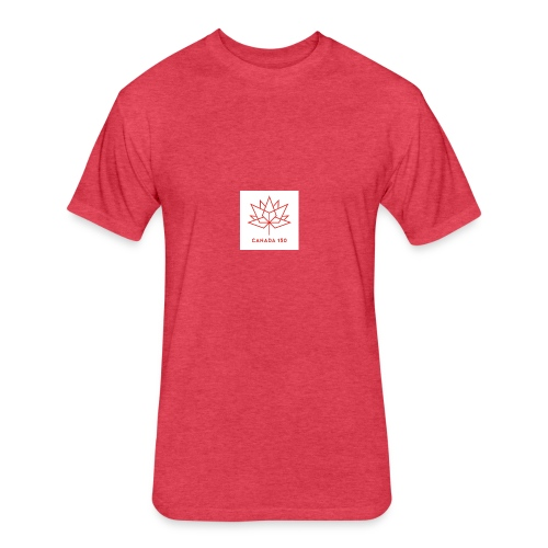 c150 logo - Fitted Cotton/Poly T-Shirt by Next Level