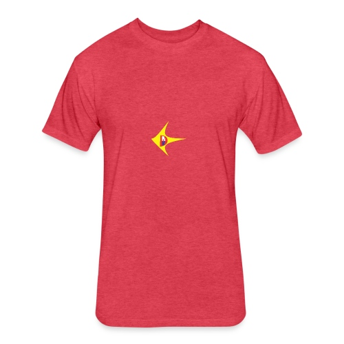 D - Fitted Cotton/Poly T-Shirt by Next Level