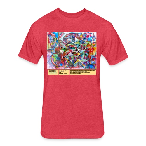 sketches of spain - Fitted Cotton/Poly T-Shirt by Next Level