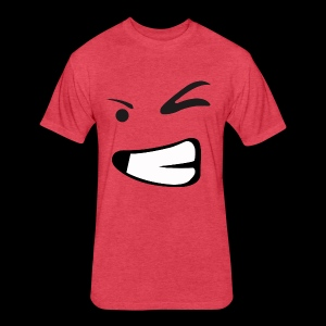 Funny - Fitted Cotton/Poly T-Shirt by Next Level