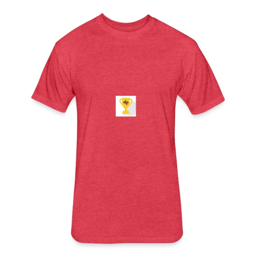 Listenin Logo Shirt - Fitted Cotton/Poly T-Shirt by Next Level