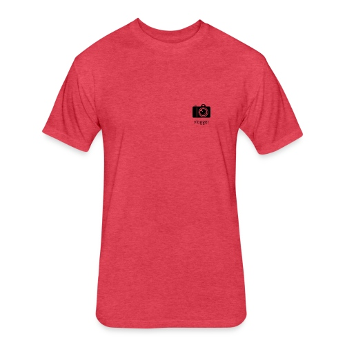 jamoloty vlogger - Fitted Cotton/Poly T-Shirt by Next Level