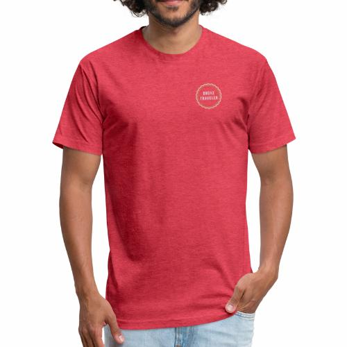 Wanderlust - Fitted Cotton/Poly T-Shirt by Next Level