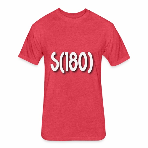 S180 Design - Fitted Cotton/Poly T-Shirt by Next Level