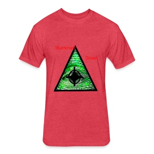 illuminati Confirmed - Fitted Cotton/Poly T-Shirt by Next Level