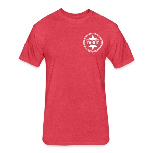 YaBoyLogo - Fitted Cotton/Poly T-Shirt by Next Level