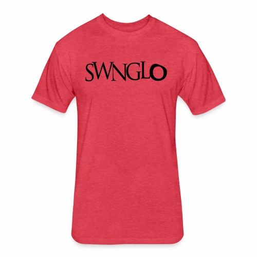 swnglo - Fitted Cotton/Poly T-Shirt by Next Level