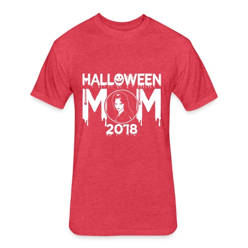 Hatchet Halloween Mom 2018 Tee - Fitted Cotton/Poly T-Shirt by Next Level