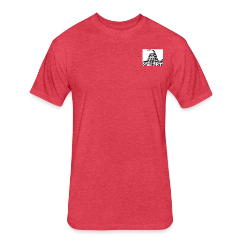 IMG 6051 - Fitted Cotton/Poly T-Shirt by Next Level