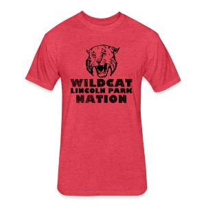 Wildcat Nation - Fitted Cotton/Poly T-Shirt by Next Level
