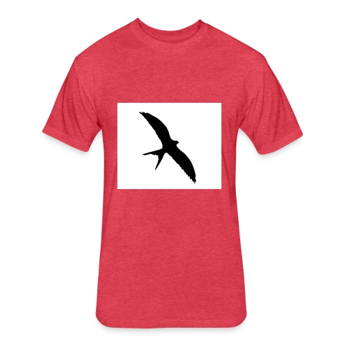 bird - Fitted Cotton/Poly T-Shirt by Next Level