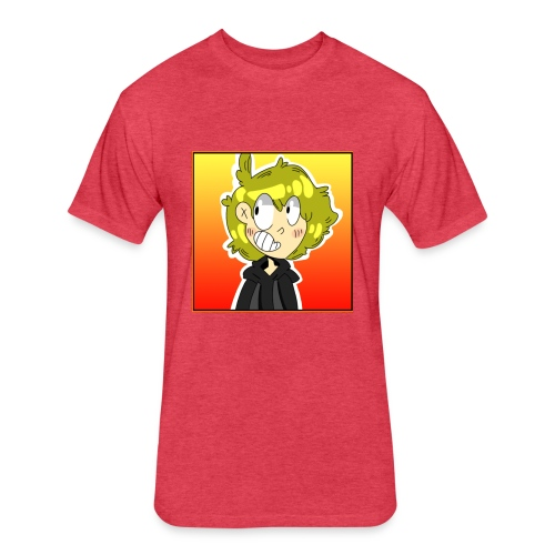 Brandon Cartoon Shirt Design - Fitted Cotton/Poly T-Shirt by Next Level