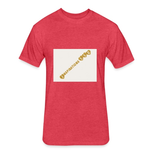 Inspirations1 - Fitted Cotton/Poly T-Shirt by Next Level