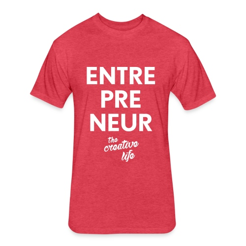 The Entrepreneur Tee - Fitted Cotton/Poly T-Shirt by Next Level