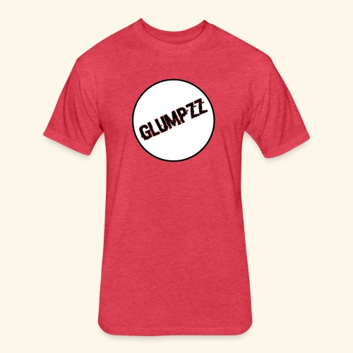 Glitchy Glumpzz - Fitted Cotton/Poly T-Shirt by Next Level