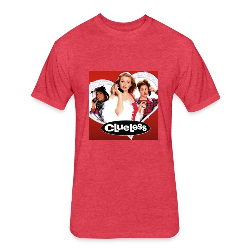 clueless - Fitted Cotton/Poly T-Shirt by Next Level