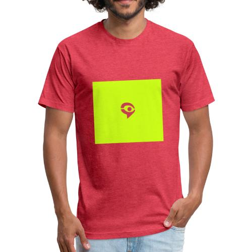 1C9A6C44 64A0 4175 94BA 3329182DCD1C - Fitted Cotton/Poly T-Shirt by Next Level