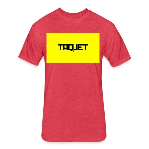 Yellow Thunder - Fitted Cotton/Poly T-Shirt by Next Level