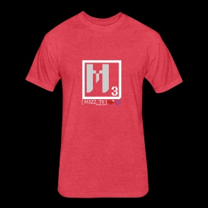 M3ZZ TV SOCIAL NETWORKS LIGHT - Fitted Cotton/Poly T-Shirt by Next Level