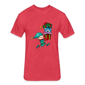 Premium Design Elf - Fitted Cotton/Poly T-Shirt by Next Level