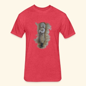 Child labourer - Fitted Cotton/Poly T-Shirt by Next Level
