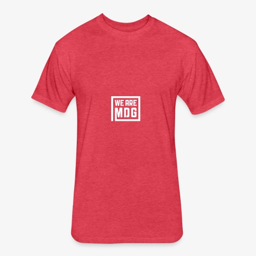 MDG Pocket Stamp - Fitted Cotton/Poly T-Shirt by Next Level