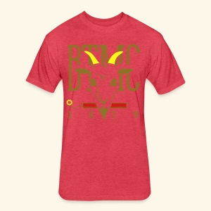 Wildest Goat in the Wilderness - Fitted Cotton/Poly T-Shirt by Next Level