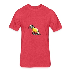 fjord_horse - Fitted Cotton/Poly T-Shirt by Next Level