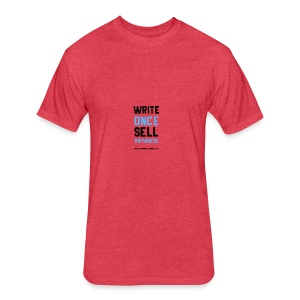 Write Once Sell Anywhere - Fitted Cotton/Poly T-Shirt by Next Level